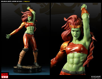 Collectibles > Marvel > Savage She-Hulk - Women of Marvel Comiquette